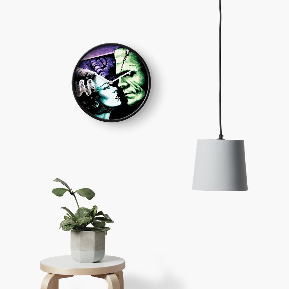 Bride & Frankie Monsters in Love Clock