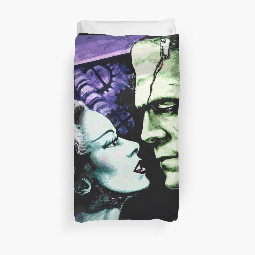 Bride & Frankie Monsters in Love Duvet Cover