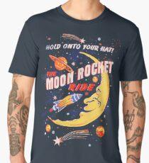 Rocket Moon Ride (vintage) Men's Premium T-Shirt