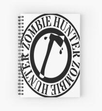 zombie hunter Spiral Notebook