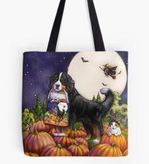 Halloween Bernese Mountain Dog Tote Bag