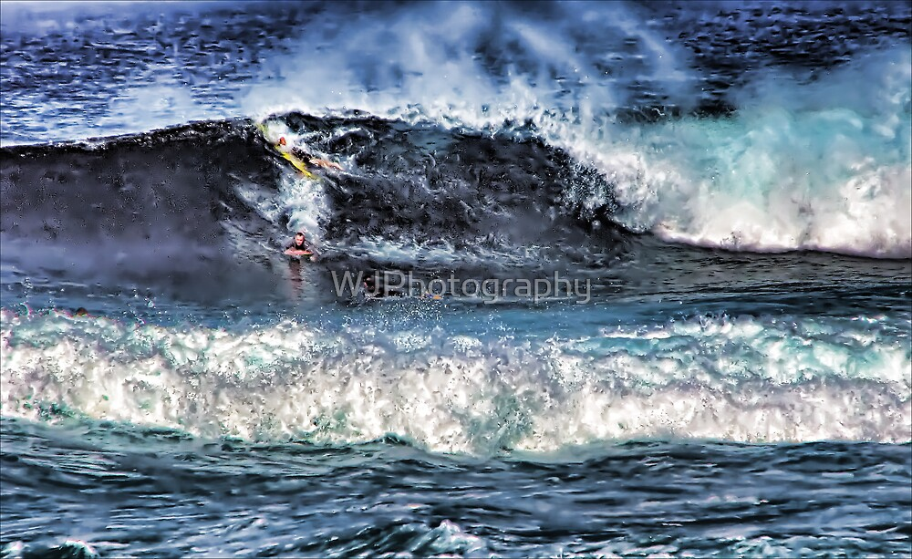 Rough Going by WJPhotography