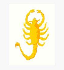 "Scorpion ""Drive"", 2c, Scorpio,  Art Print"