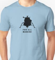 Apollo 11 - celebrate the 50th anniversary of moon landing | FOR ALL MANKIND Unisex T-Shirt