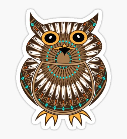 Owl - The Messenger  Sticker
