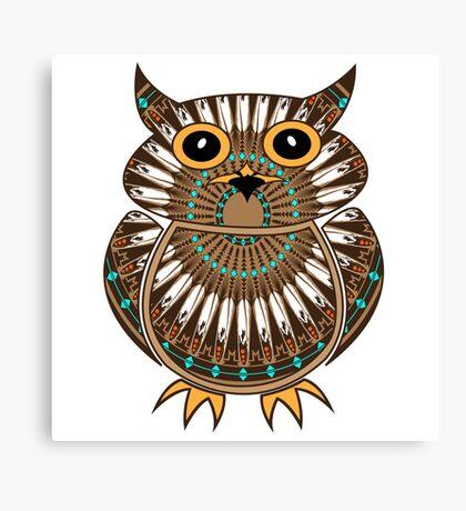 Owl - The Messenger  Canvas Print