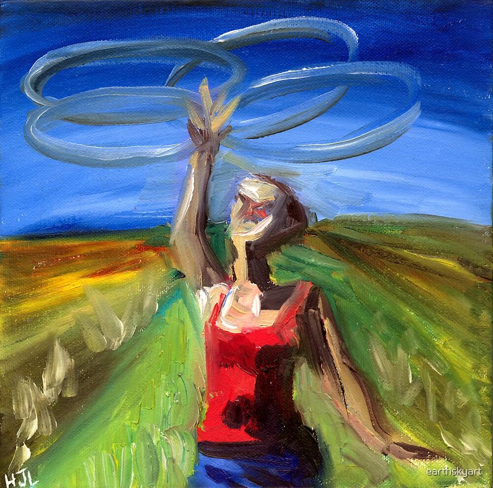 Hoop Girl by earthskyart