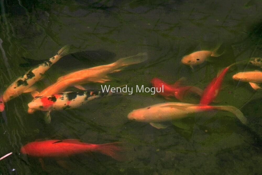 Gold Fish by Wendy Mogul