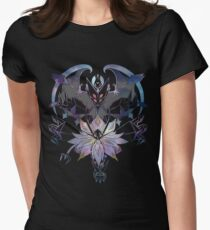 Ultra Solgaleo x Lunala Women's Fitted T-Shirt