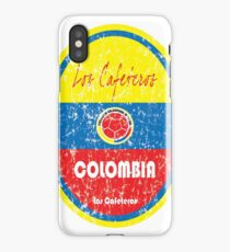 Football - Colombia (Distressed) iPhone Case/Skin