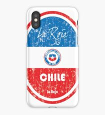 Football - Chile (Distressed) iPhone Case/Skin