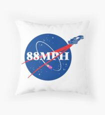 WE DON'T NEED ROADS Throw Pillow