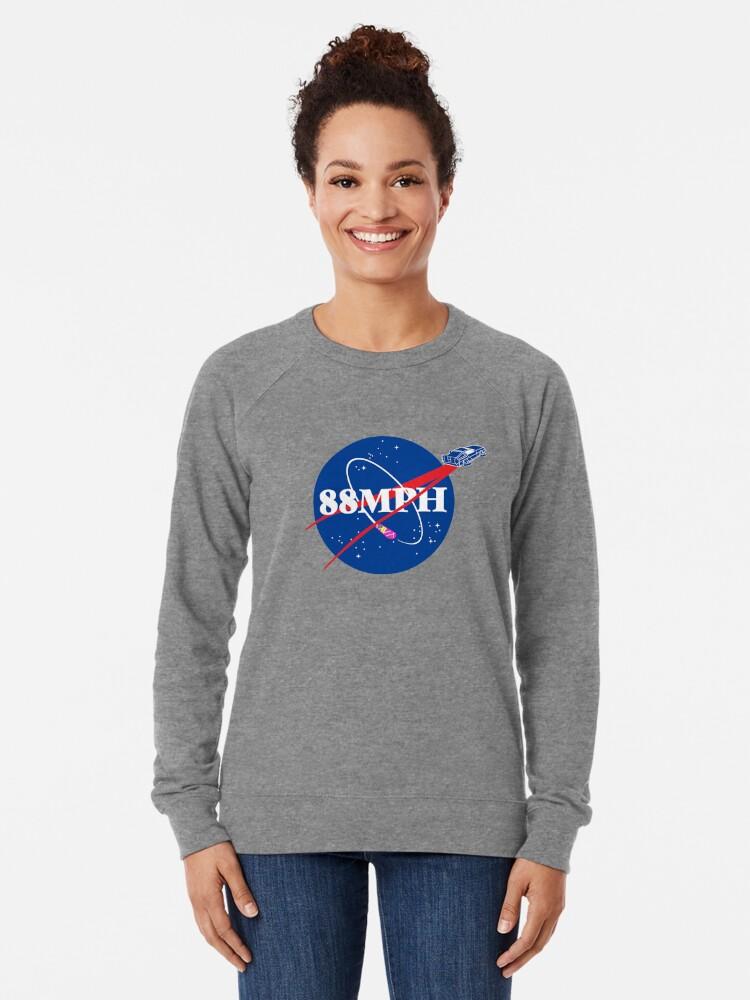 Alternate view of WE DON'T NEED ROADS Lightweight Sweatshirt