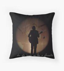 SILHOUETTE - HARRY STYLES Throw Pillow