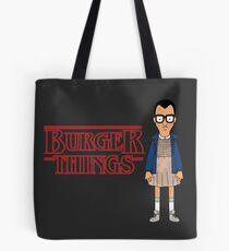 Burger Things Tote Bag