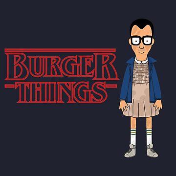 Burger Things by GeekCupcake
