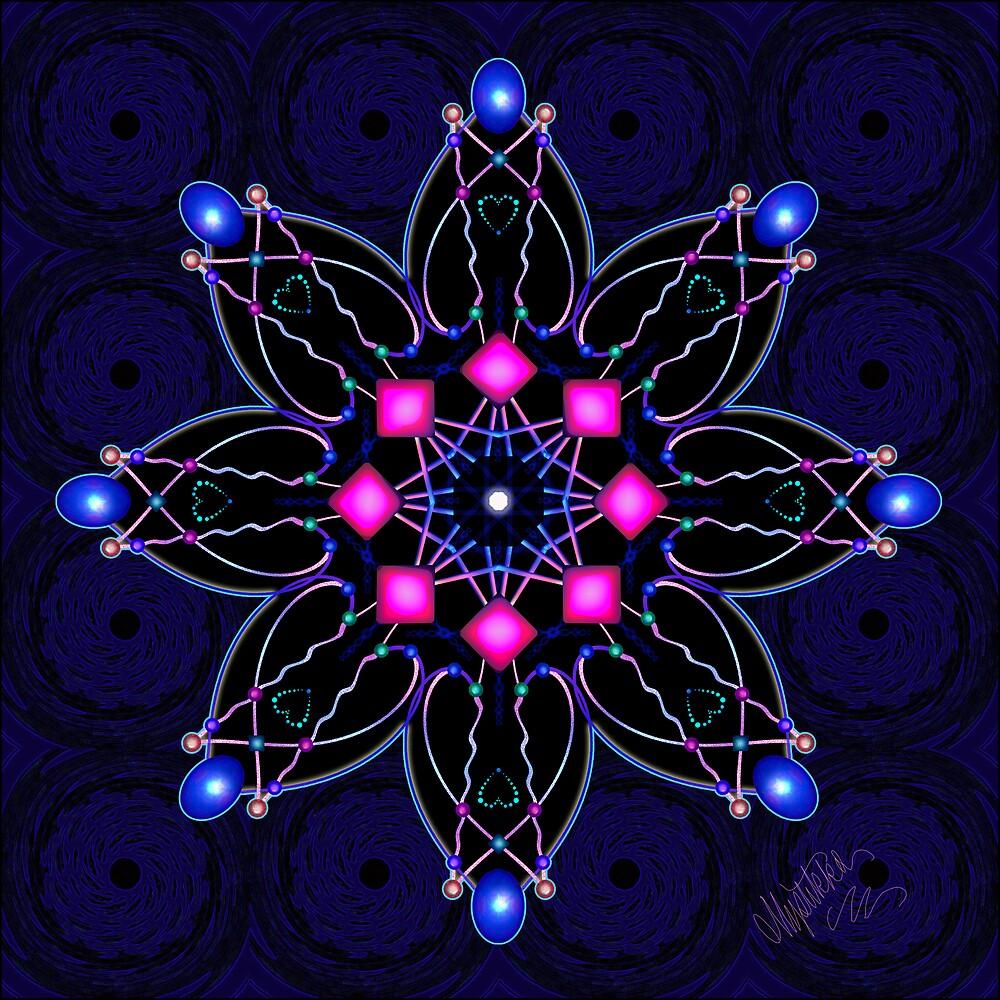 Blue Moonstones by Mystikka