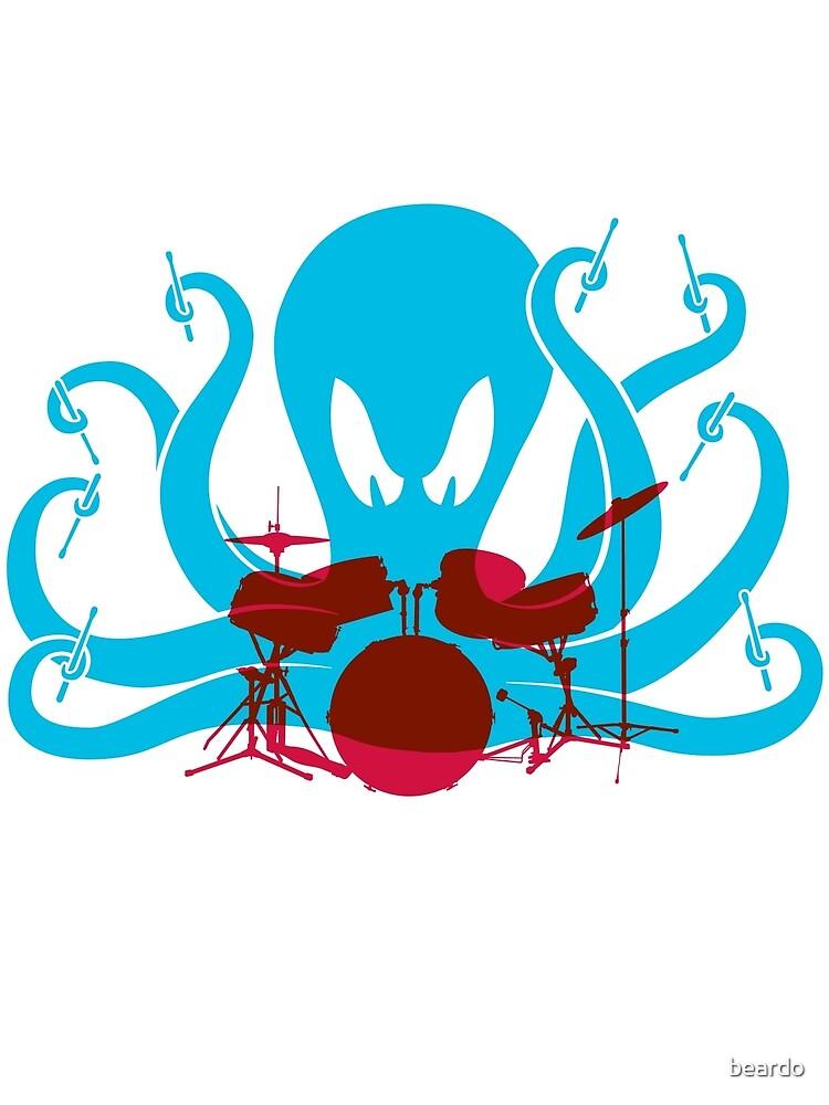Octo Drummer by beardo