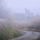 Misty morning meander. by Paul Pasco