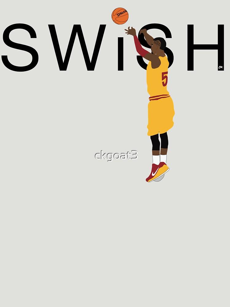 "2017 JR Smith ""Swish"" T-Shirt by ckgoat3"