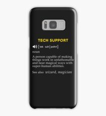 Tech support meaning Samsung Galaxy Case/Skin