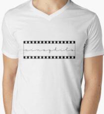 The Cinephile Men's V-Neck T-Shirt