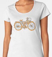 Steam Punk Cycling Women's Premium T-Shirt