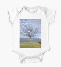 Tree with blue sky and clouds - Perth Kids Clothes