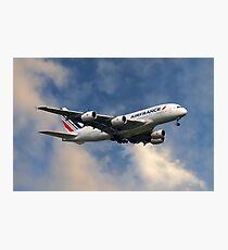 Air France Airbus A380-861 Photographic Print