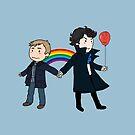 «Orgulloso de ser Sherlock y John» de trillianmc