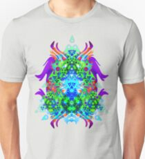 Psychedelic Trance inspired Slim Fit T-Shirt