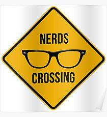 Póster Cruce de nerd