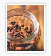 Jar of star anise Sticker