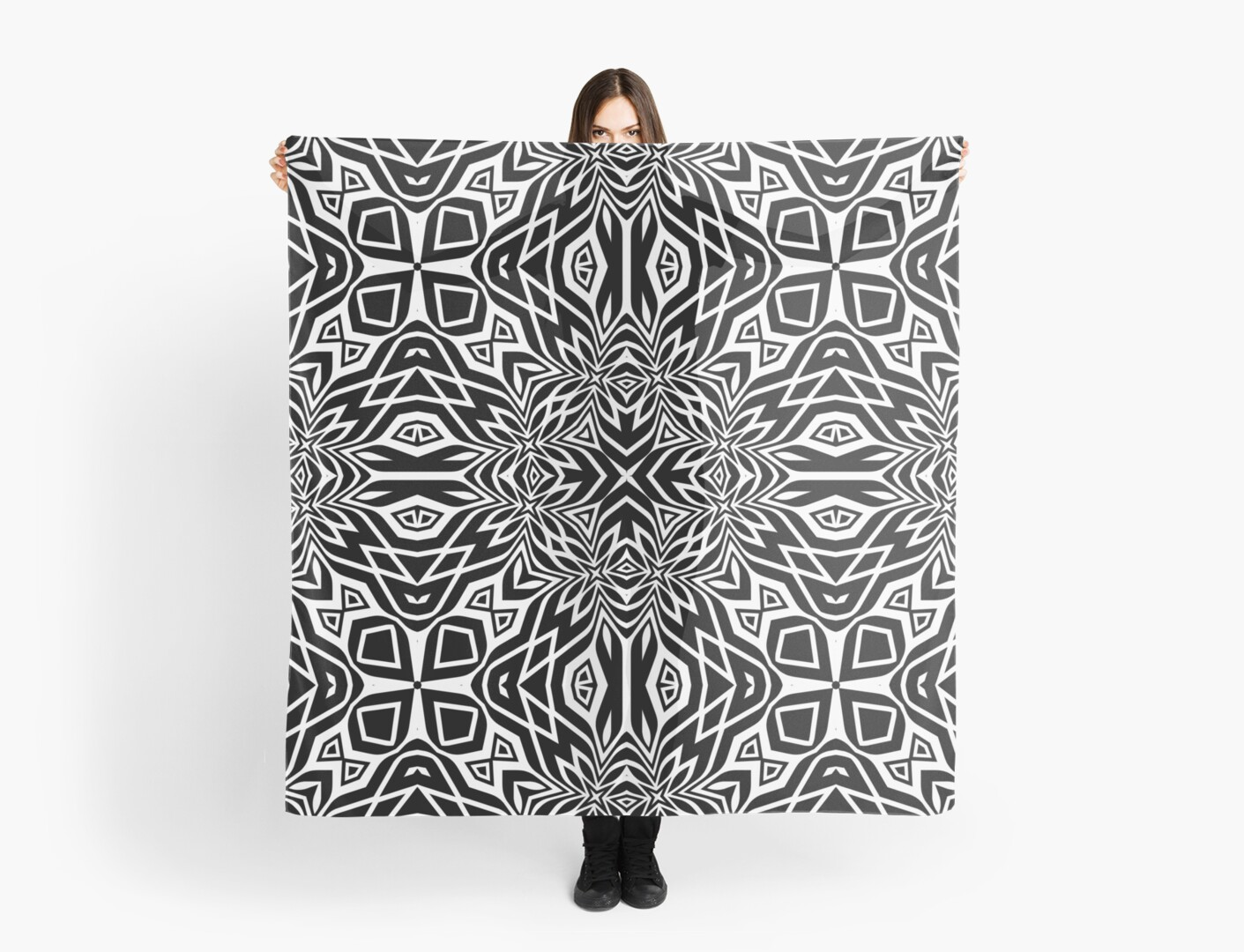 Black & White Tribal | Leyana S4 by webgrrl