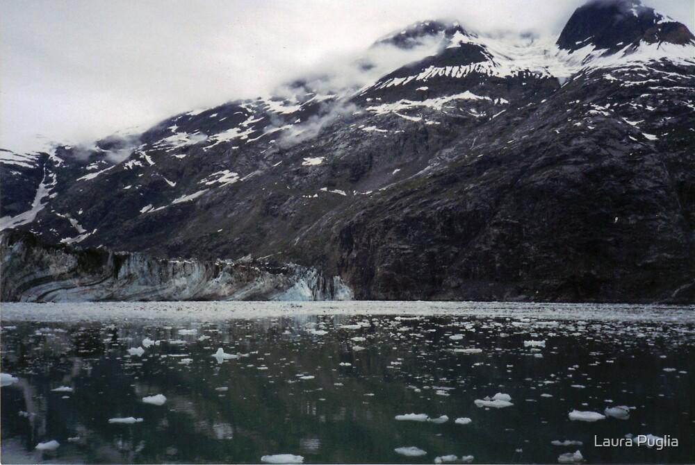 Muir Glacier in Glacier Bay, Alaska by Laura Puglia