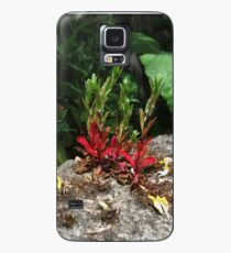 Flowers Growing from the Stone Wall Case/Skin for Samsung Galaxy