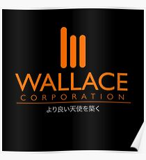 Wallace Corporation : Inspired By Blade Runner 2049 Poster