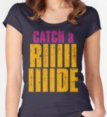 Borderlands 2 - CATCH A RIDE shirt Women's Fitted Scoop T-Shirt