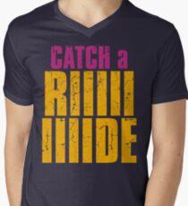 Borderlands 2 - CATCH A RIDE shirt Men's V-Neck T-Shirt