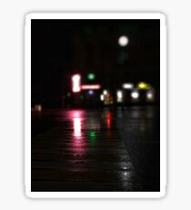 The crosswalk Sticker