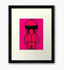 The Stig - Pink Stig Framed Print