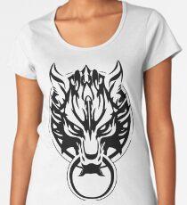 Final Fantasy Fenrir Wolf Women's Premium T-Shirt