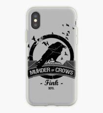 Vinilo o funda para iPhone Bioshock Infinite - Murder of Crows Vigor camisa