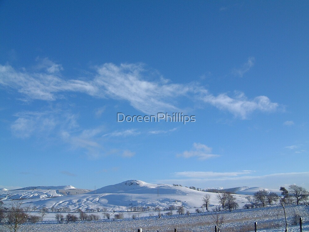 Cult Hill and Cleish Hills Powmill by DoreenPhillips