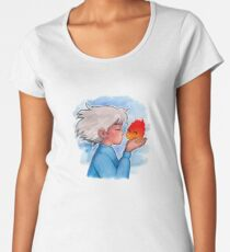 Calcifer Kiss Women's Premium T-Shirt