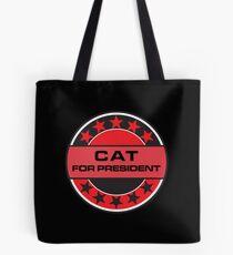 Cat For President Tote Bag