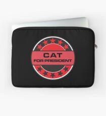 Cat For President Laptop Sleeve