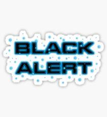 Star trek Discovery - Black Alert Sticker