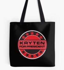 Kryten For President Tote Bag