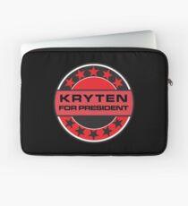 Kryten For President Laptop Sleeve